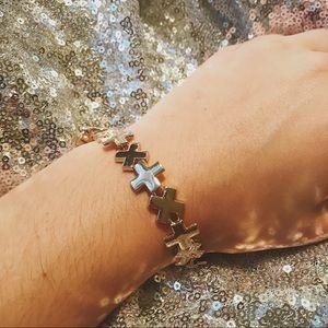 """Jewelry - VINTAGE """"X"""" Bracelet"""